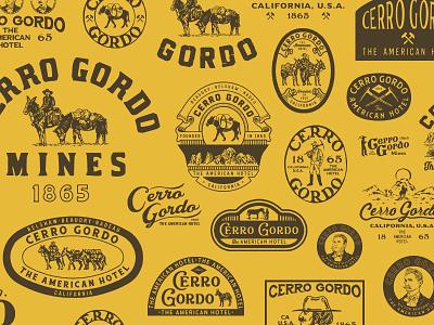 Design for Cerro Gordo appareldesign packaging type illust direction artwork art vintage packagedesign graphicdesign logo typography lettering branding graphic design illustration