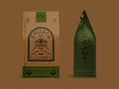 Emissos co. drawing packagingdirection vintage branding typography artwork lettering graphicdesign direction packaging illustration design