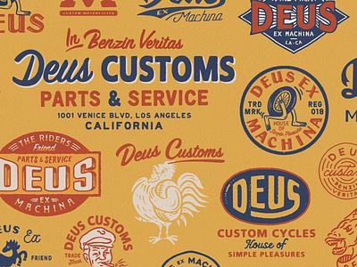 Deus Customs deusart artwork appareldesign direction branding graphicdesign graphic illust illustration