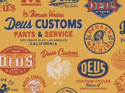 Deus Customs deusart artwork appareldesign direction branding graphicdesign graphic illust illustration