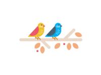 Fall Birds 🕊