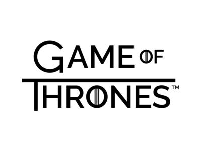 Game of Thrones Sans-Serif Logo