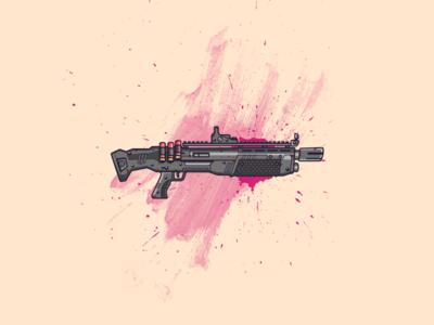 Heavy Shotgun from Fortnite