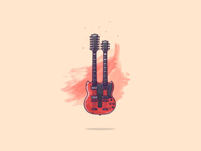 Things from past #4 : A Double neck Gibson