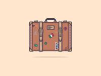 A Vintage Suitcase :)