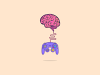 Game controller that controls brain :D