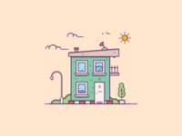 Things from past # 11 : A Small house