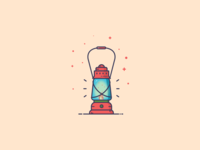 Things from past # 13 : A lantern