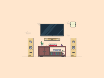 Things from past # 16 : Living Room