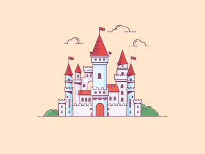 Things from past # 19 : A Castle