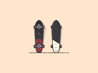 Another Skateboard, a cruiser