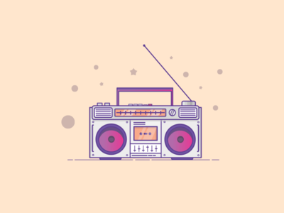 Things from past # 20 : A Boombox