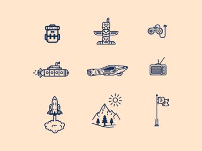 Random Icons # 01