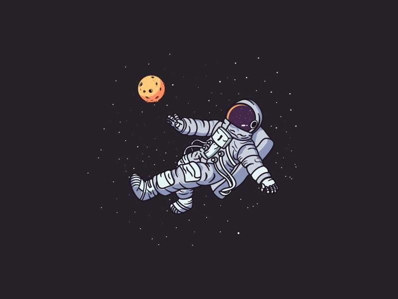 An Astronaut By Mahamud Hassan On Dribbble