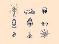 Random Icons # 04