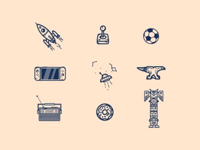 Random Icons # 07