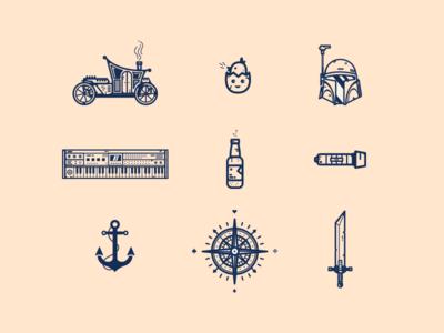 Random Icons # 08