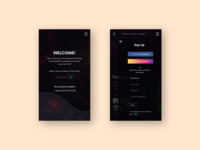 App design screens #2