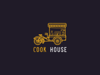 Logo for a food cart business
