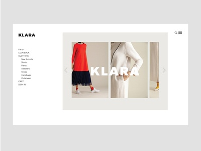 KLARA E-Commerce
