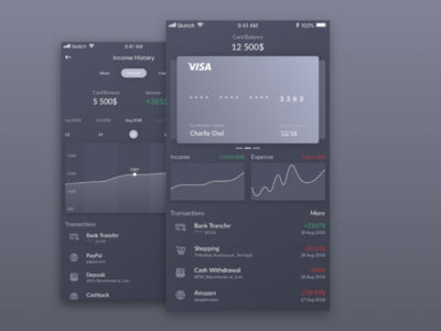 Daily UI #18 Analytics Chart