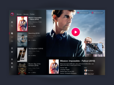 Daily UI #25 TV App