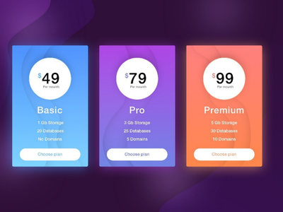 Daily UI #30 Pricing Card pricing plan pricing card daily ui 30daychallenge