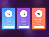 Daily UI #30 Pricing Card