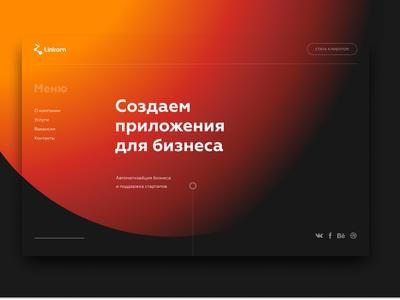 Web Shot it company typography design web deisgn ui  ux design ui