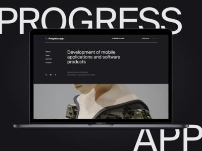 Progress app Shot