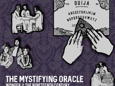 Ouija Board kansas wichita planchette engraving spiritualism ouija board