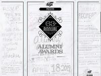 Alumni Awards Drafting