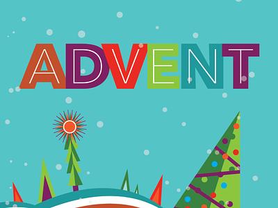 2019 Advent Guide celebration jesus church winter snow christmas tree christmas
