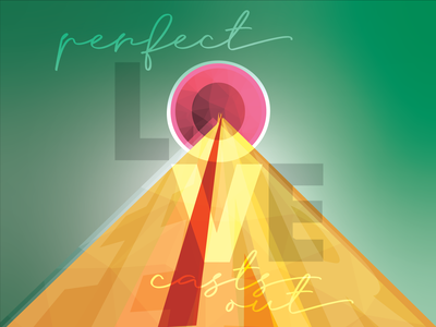 Perfect Love abstract shapes love