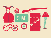 A Christmas Story Icons