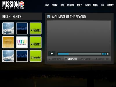Media Player wordpress genesis media player video icons