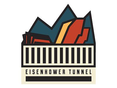 Eisenhower Tunnel Logo colorado mountain
