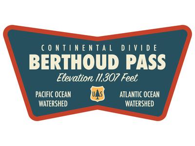 Berthoud Pass Logo
