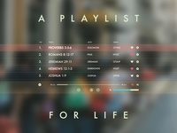 Playlist For Life
