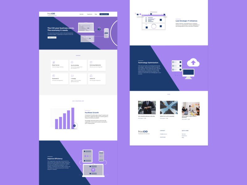 IT Consulting Homepage
