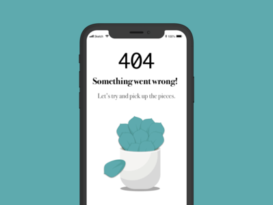 404 Mobile Page