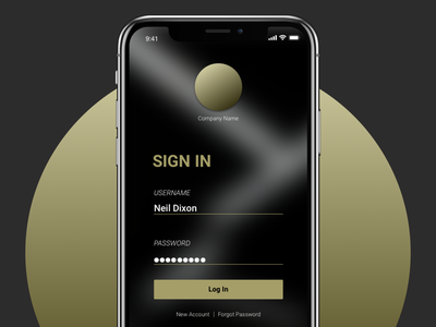 Sign In | Daily UI 1