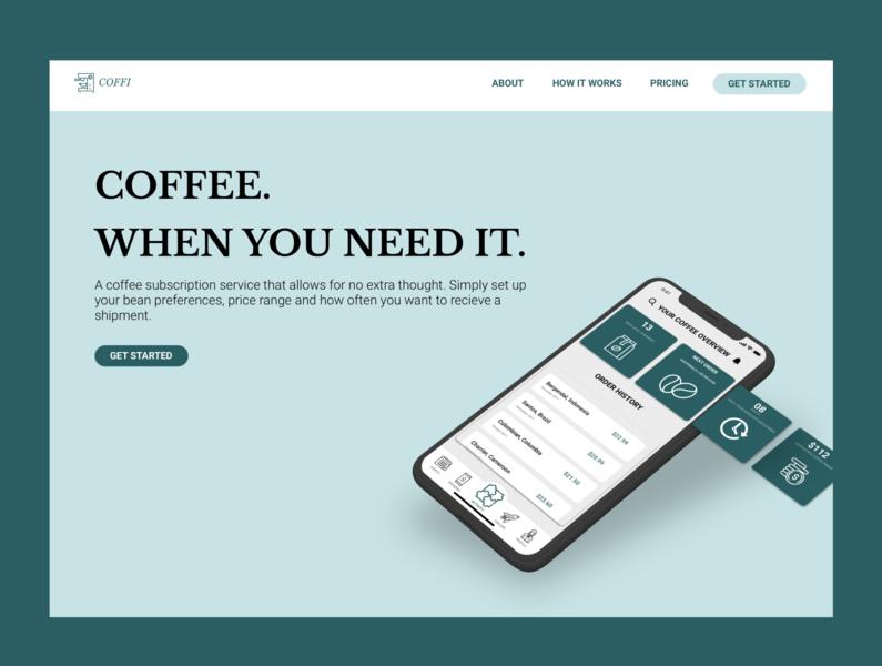 Landing Page | DailyUI 3
