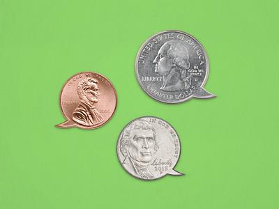 Money advice finance money coins photo illustration collage editorial graphic editorial illustration editorial art