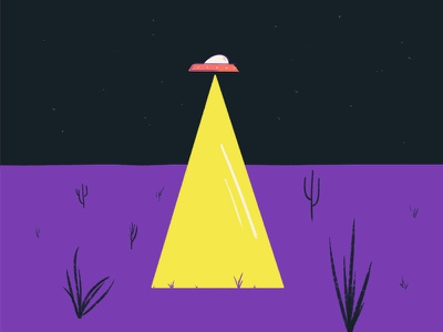 Abduction a 36 days of type illustration