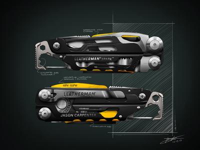 Leatherman Signal Design Sketch