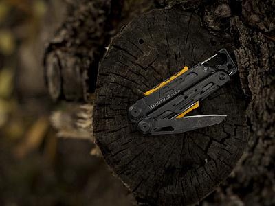 Leatherman SIGNAL in Black Oxide firestarter tool signal knife industrialdesign rei portland pocketknife pnw pacificnorthwest outdoorretailer multi-tool madeinusa leatherman