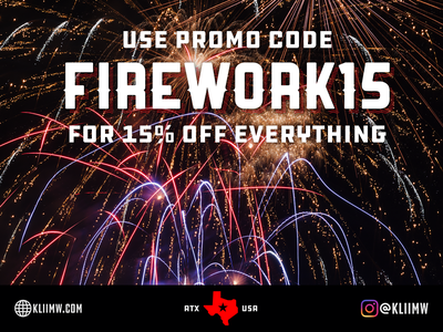 4th of July Promo for Klii Motorwerkes firework fireworks sale instagram vw volkswagen