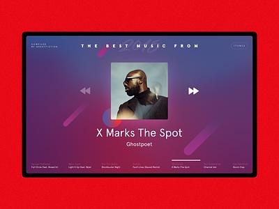 Year Playlist 2015 spotify app ui web art cover playlist music
