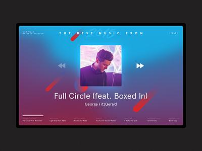 Year Playlist 2015 feeling ux ui spotify interface web music